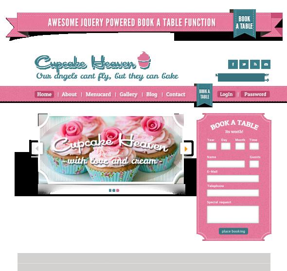 Delimondo Cupcakeheaven Fully Responsive HTML - 11